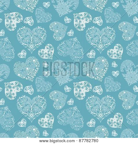 Bright openwork seamless pattern