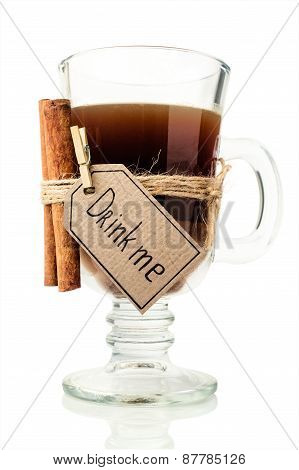 Coffee Drinks With Cinnamon Sticks