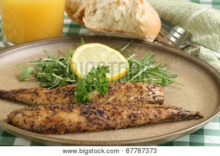 Grilled Peppered Mackerel