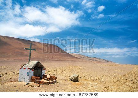 Grave In A Desert