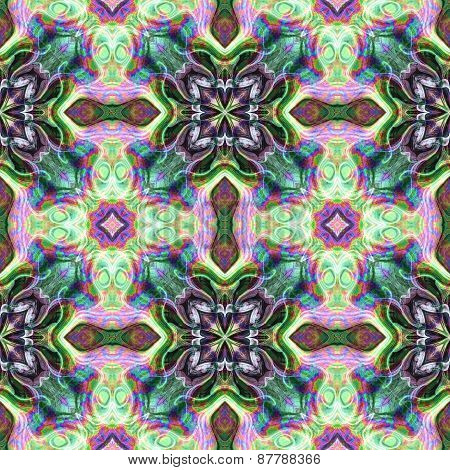 Seamless Kaleidoscope Texture Or Pattern Colorful Spectrum