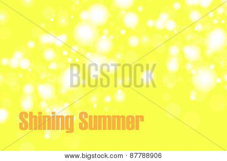 Shiny Summer Bokeh