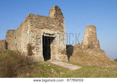 Ruins Of Lichnice Castle, Czech Republic