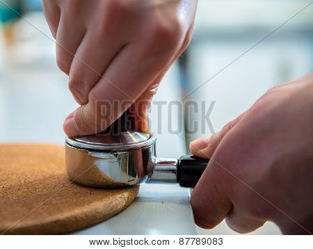 Porta Filter And Espresso Tamper