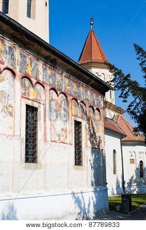 Details of Saint Nicholas Church in Brasov, Transilvania