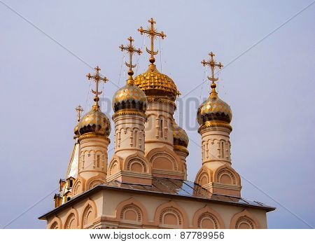 Domes and crosses