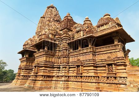 Lakshmana Temple In  Khajuraho