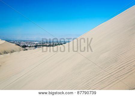 Desert Sand Dune View