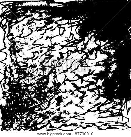 Black Pencil Background
