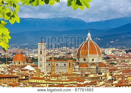 Duomo cathedral in Florence, Italy