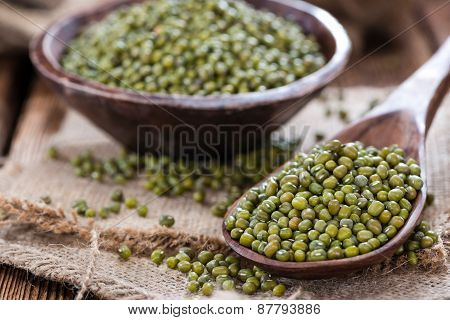 Some Mung Beans