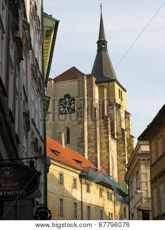 Church of St. Jiljí in Prague