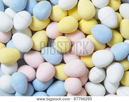 Candy Eggs Background