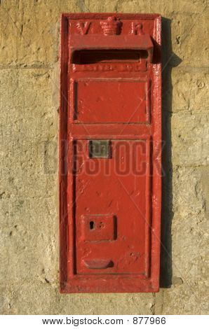 Letter Posting Box In Wall