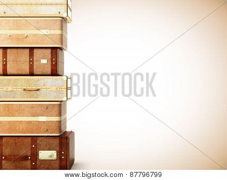 Many Suitcase