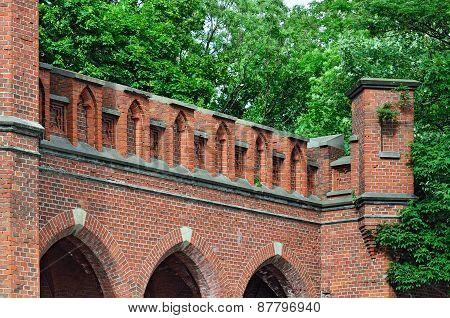 Rossgarten Gate - Fort Of Koenigsberg. Kaliningrad (former Konigsberg), Russia