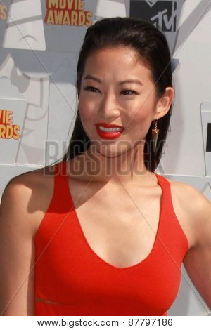 LOS ANGELES - FEB 11:  Arden Cho at the MTV Movie Awards 2015 at the Nokia Theater on April 11, 2015 in Los Angeles, CA