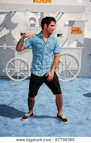 LOS ANGELES - FEB 11:  Tyler Posey at the MTV Movie Awards 2015 at the Nokia Theater on April 11, 2015 in Los Angeles, CA