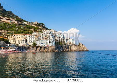 Amalfi Of South Italy