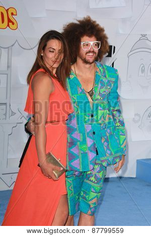 LOS ANGELES - FEB 11:  Redfoo at the MTV Movie Awards 2015 at the Nokia Theater on April 11, 2015 in Los Angeles, CA