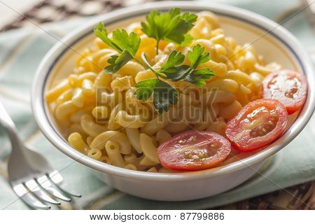 Elbow Macaroni And Cheese