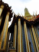picture of heavenly  - Majestic Thai Temple Columns - JPG