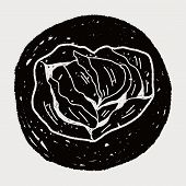 Постер, плакат: Cabbage Doodle