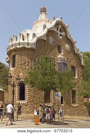 Architecture Of Park Guell