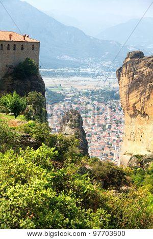 Meteora Clifftop Monasteries
