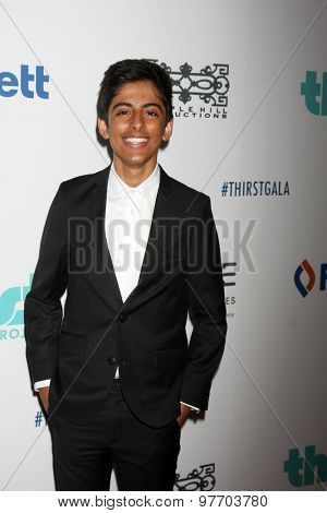 LOS ANGELES - JUN 30:  Karan Brar at the 6th Annual Thirst Gala at the Beverly Hilton Hotel on June 30, 2015 in Beverly Hills, CA