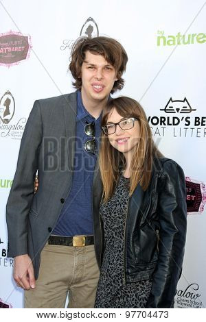 LOS ANGELES - AUG 1:  Matty Cardarople, Lauren Greene at the A CATbaret! - A Celebrity Musical Celebration of the Alluring Feline at the Avalon on August 1, 2015 in Los Angeles, CA