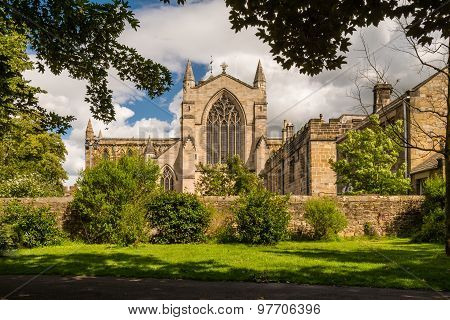 Hexham Abbey From The West