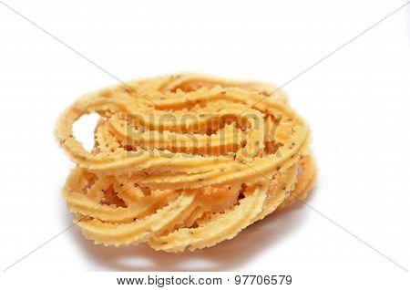 Traditional Indian Diwali Snacks Chakali