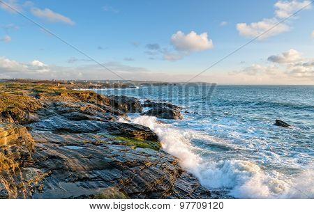 Booby's Bay On The Cornish Coast