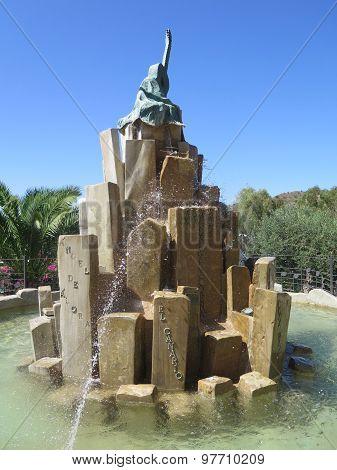 Guitar Fountain