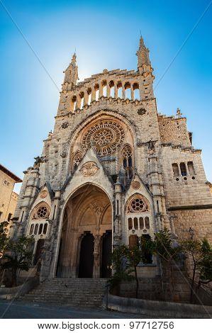 The Church Of Sant Bartomeu In Soller