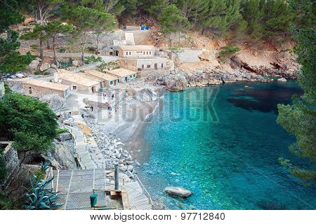 The Bay Of Sa Calobra, Majorca