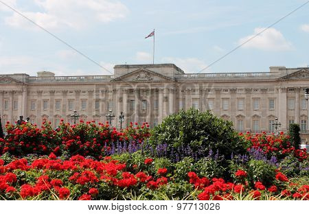 Buckingham Palace, London, England, UK - July 2015