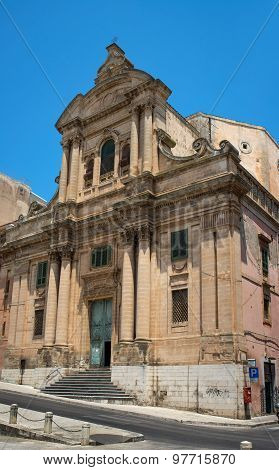 Chiesa Badia In Ragusa. Sicily, Italy.