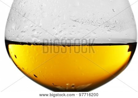 Glass of wine, closeup