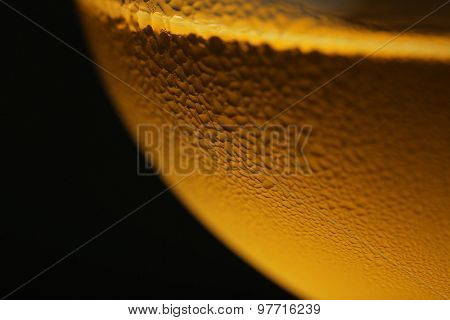 Glass of wine, closeup