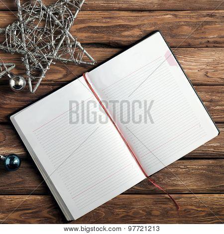 Blank Open Notepad