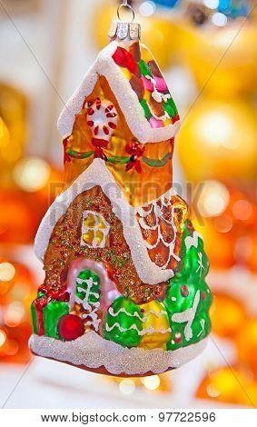 Colorful Christmas market in Strasbourg, Alsace, France
