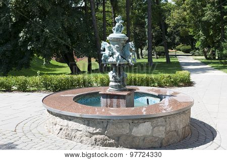 Fountain With A Statue