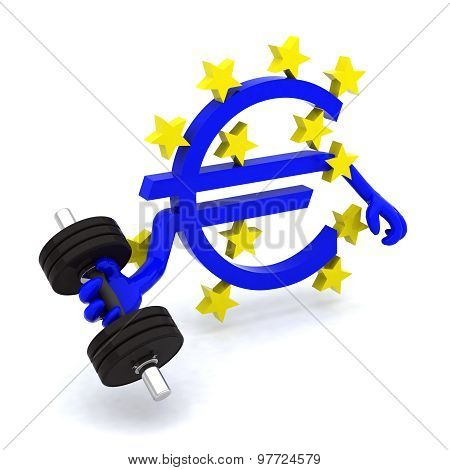 Euro Symbol Which Makes Weight Training