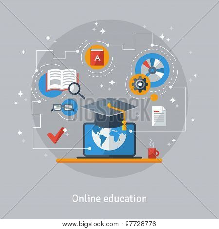 Concept for Distance Education and Online Learning