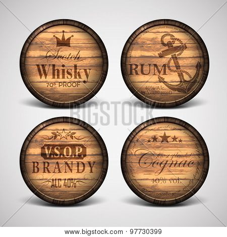 Set Of Covers Casks
