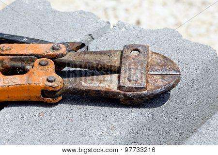 Scissors For Reinforcement Bars