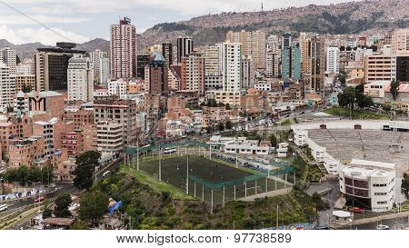 View Over La Paz Houses