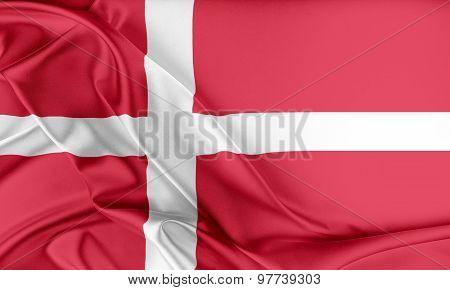 Denmark Flag.